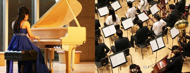 シングルモルトを例える一例としてクラシック音楽の「ソロとオーケストラ」