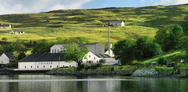 スコットランド スカイ島シングルモルト スコッチウイスキー タリスカー蒸留所