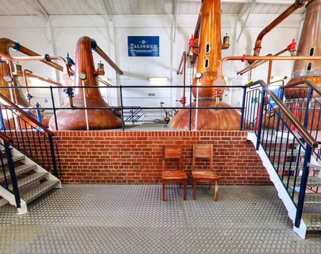 スコットランド スカイ島シングルモルト スコッチウイスキー タリスカー蒸留所 グーグルストリートビュー