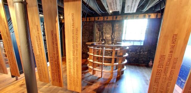 スコットランド スカイ島シングルモルト スコッチウイスキー タリスカー蒸留所 テイスティングルーム