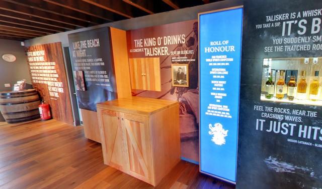 スコットランド スカイ島シングルモルト スコッチウイスキー タリスカー蒸留所 ビジターセンター