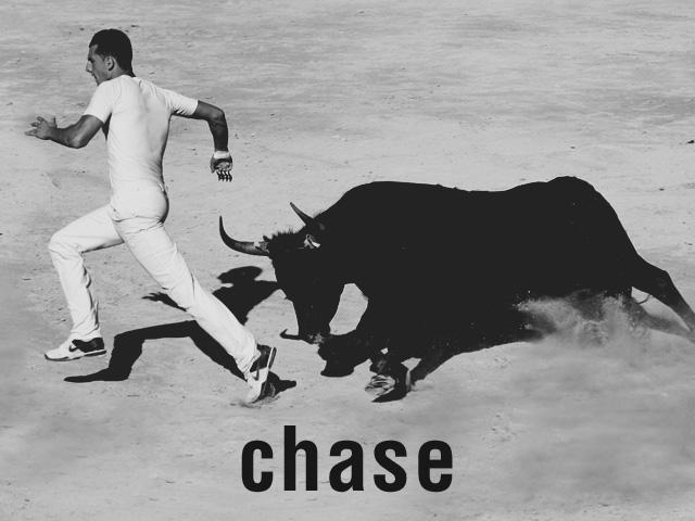 チェイサーとは、英語の「chase(追いかける)」