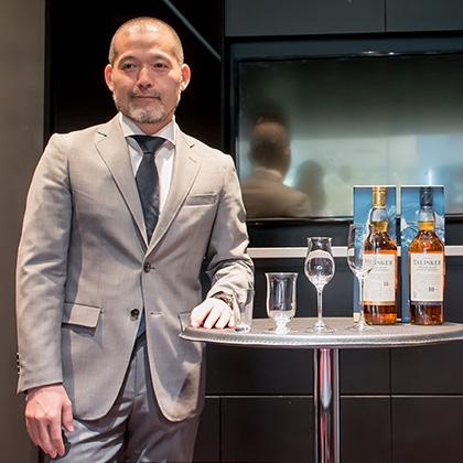 庄司 大輔さん リーデル(RSN Japan 株式会社) テイスティング・マネージャー/チーフ グラスエデュケイター。JSA認定ソムリエ。