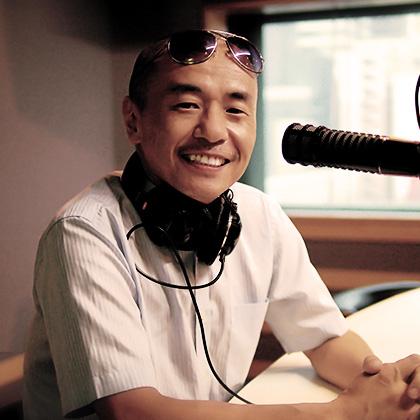 番組DJ、MC RYU さんの軽快なトークで、リスナーに心地よい時間をお届け。