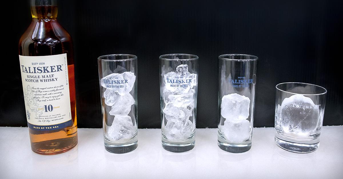 氷ひとつでウイスキーの味わいは変わる! 日本が世界に誇る氷文化が生んだ「純氷」の魅力とは?