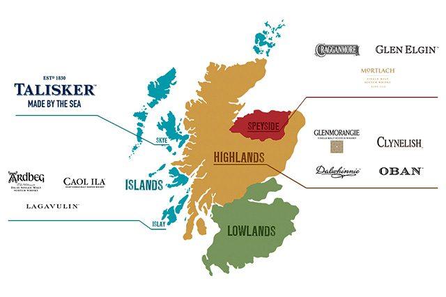アイラ、アイランズ、アイリッシュ、これ全部ウイスキーの代表的な産地なんです!
