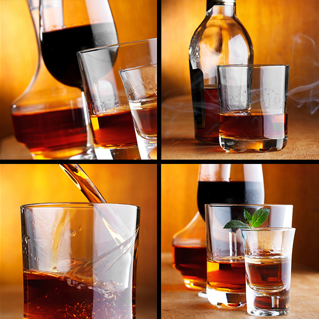ウイスキーと他の蒸留酒の 違い