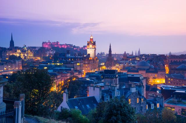 スコットランドの街のイメージ